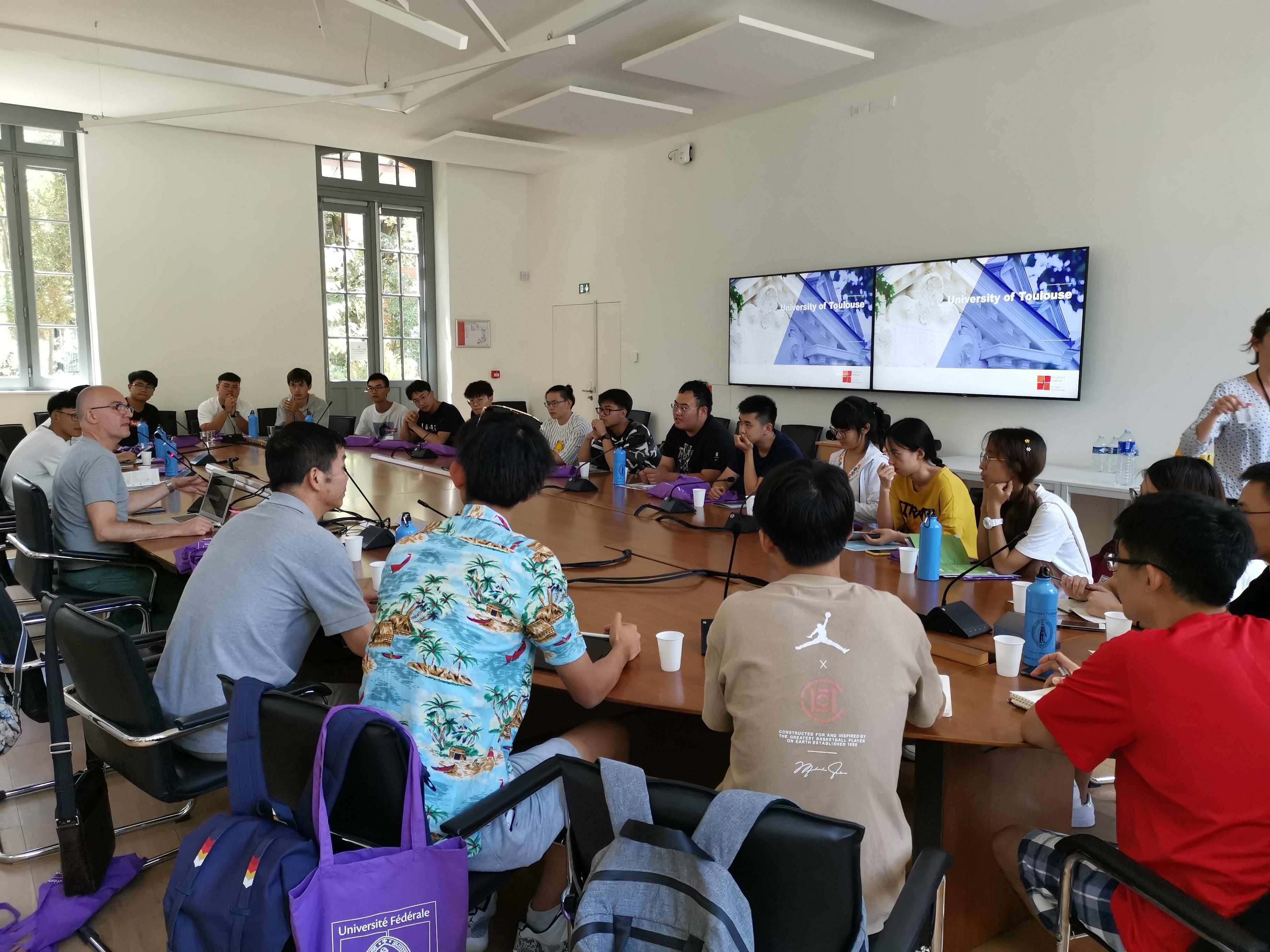 【大川视界】我校学子赴法国图卢兹比利牛斯联合大学开展暑期访学活动